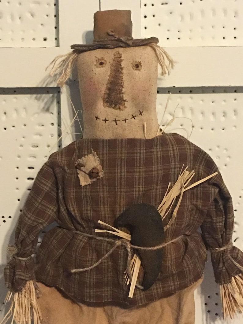 Primitive ScarecrowScarecrow DollFall ScarecrowRustic Fall image 0