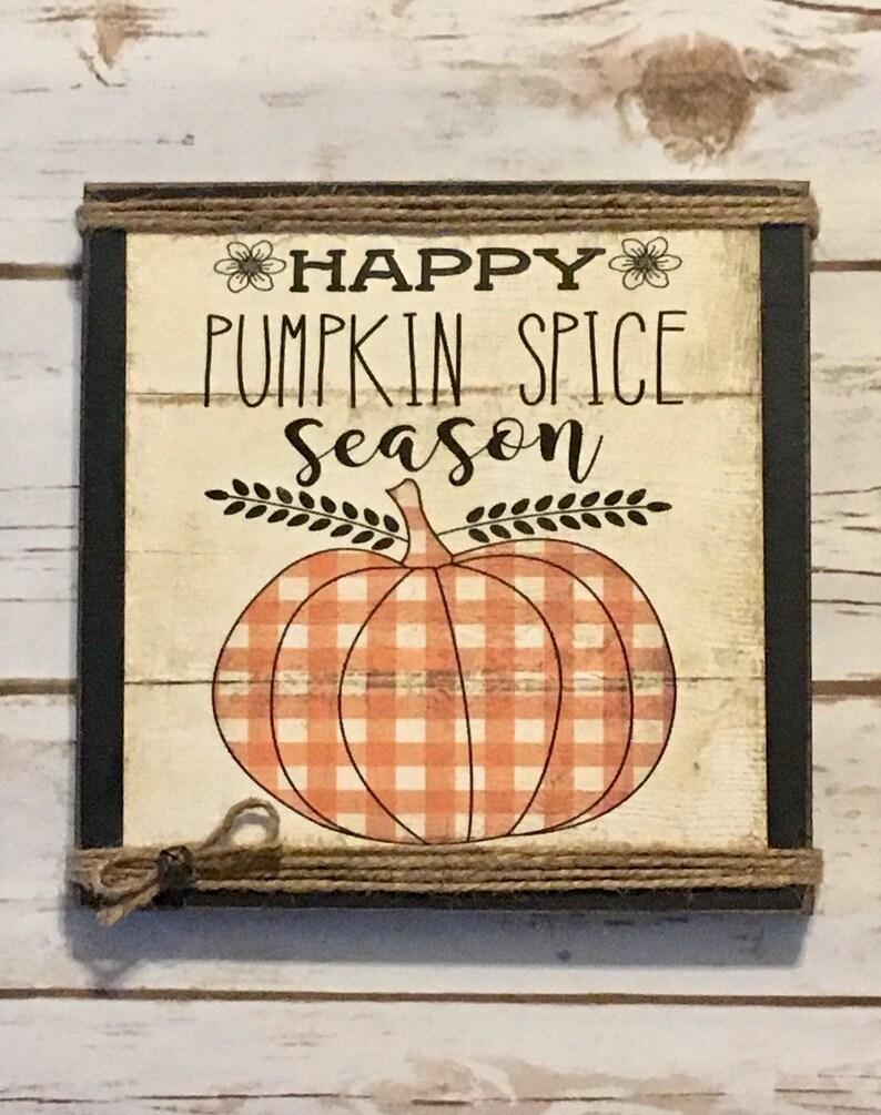 Pumpkin SignFall Pumpkin SignFall DecorPrimitive Fall image 0