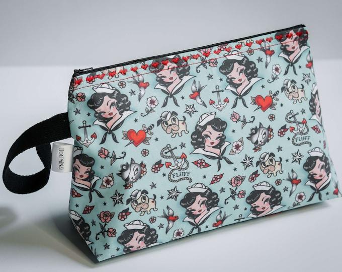 Large project bag -  Suzy Sailor Portrait