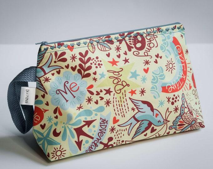 Large project bag -  Happy Tatties <3