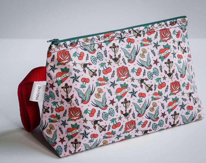 Large project bag - Rockabilly Love