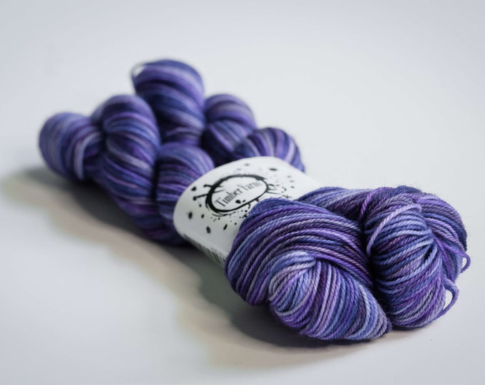 Self striping yarn - Purple Reign