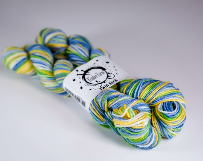 Self striping yarn - Daisy
