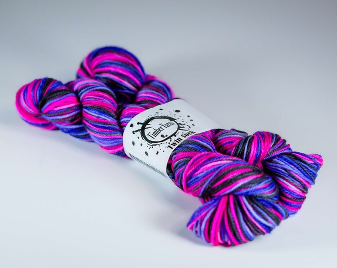 Self striping yarn - Forsted Berries