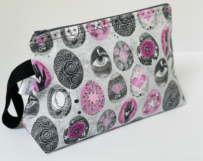Large project bag - Witchy Psanky