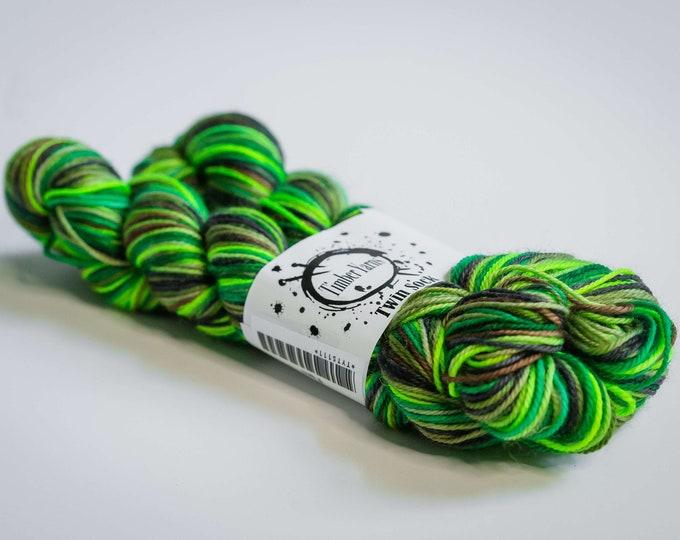 Self striping yarn - Fern
