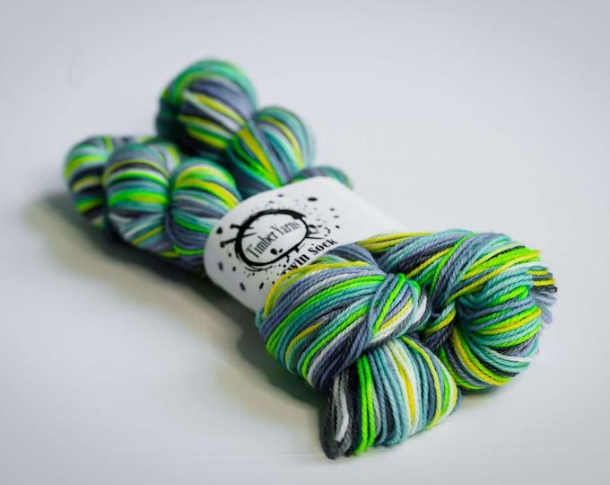 Self striping yarn - Gin & Tonic