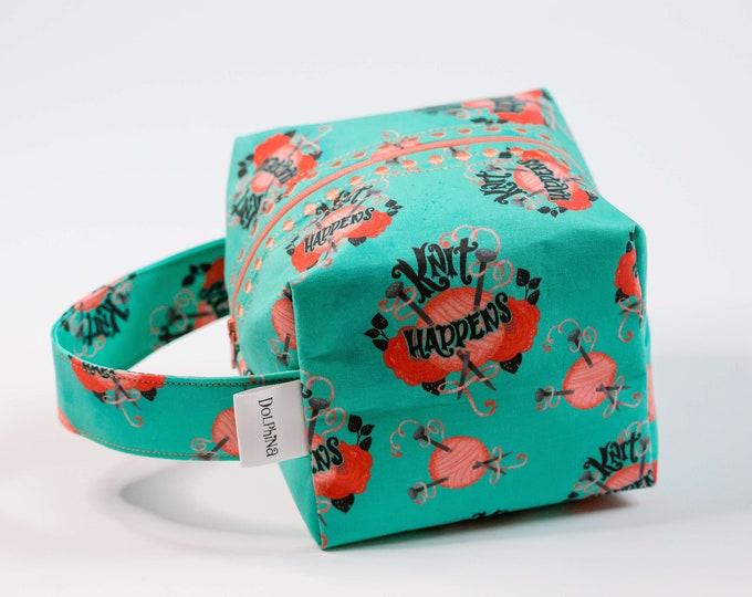 Box bag - Knit Happens