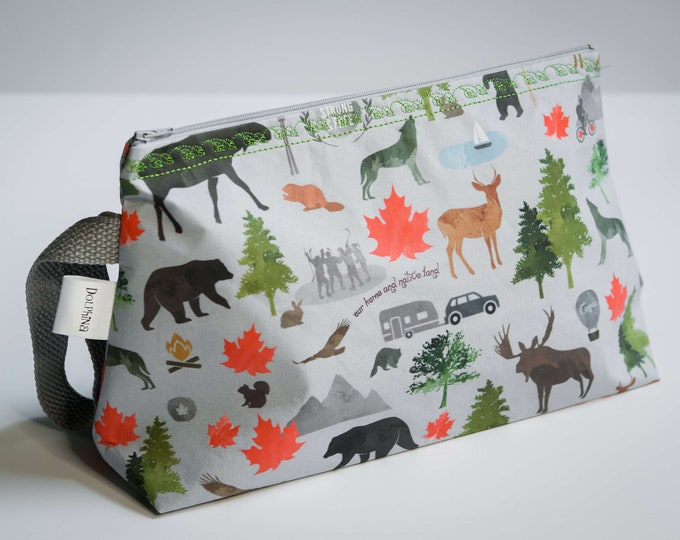 Cabinboyknits&Dolphina - Large project bag - Strong and Free