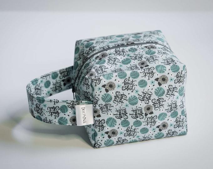 Box bag - I Knit sh!@#%