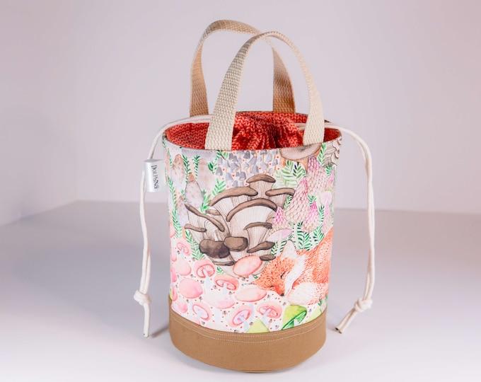 Small Bucket bag - Woodland fairies