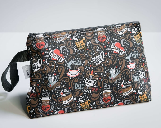 Large project bag - Brewed & Tattooed