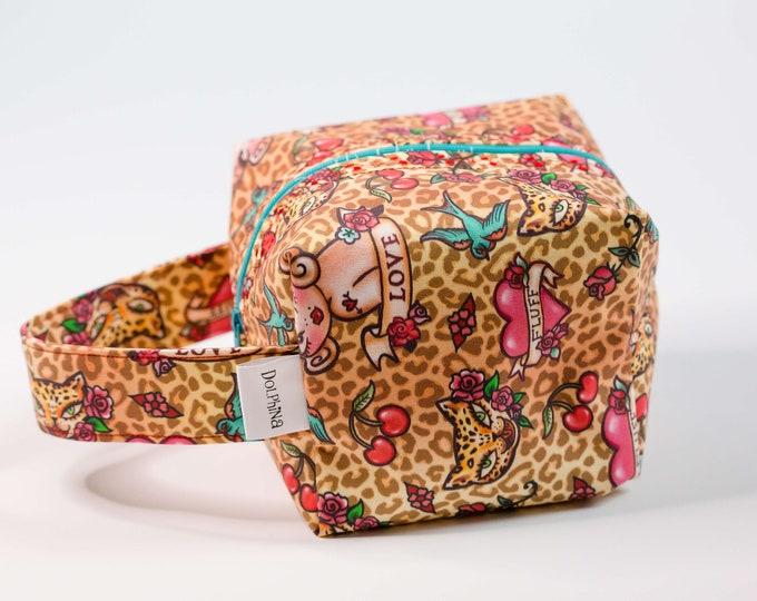 Box bag - Lady Leopard Tattoo Flash