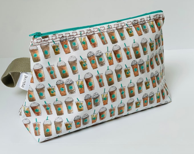 Large project bag - Coffee cup line up