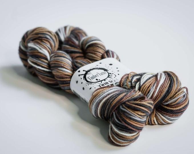 Self striping yarn - Woodlot