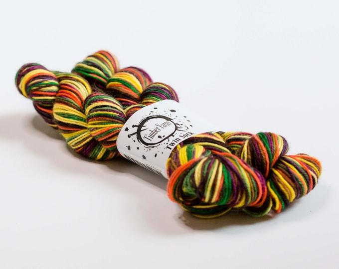 Self striping yarn - Harvest