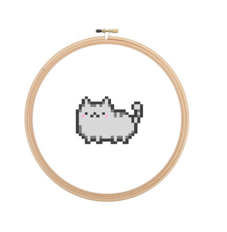 Kitty  Cross Stitch PATTERN image 0