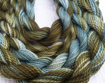 HAND DYED EMBROIDERY THREADS by COLOURCOMPLEMENTS on Etsy