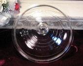 Vintage Wagner Cast Iron Skillet Glass Lid C6, 1960s Kitchen Cookware, Vintage Kitchen, Camping Cookware
