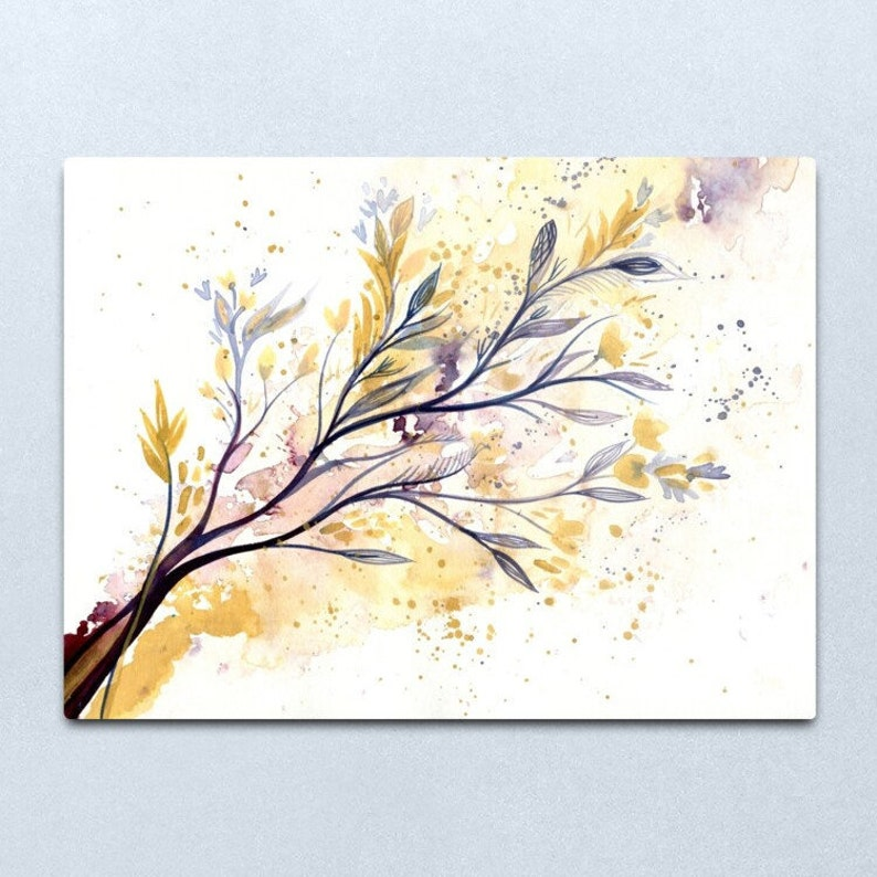 Memories of Spring  Watercolour painting on paper of flowers image 0