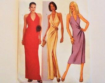 Backless Dress Pattern