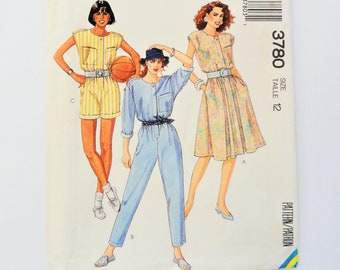 4 Years 6295 B/&W COVER UNCUT New Look Sewing Pattern Summer Tops Trousers 6M