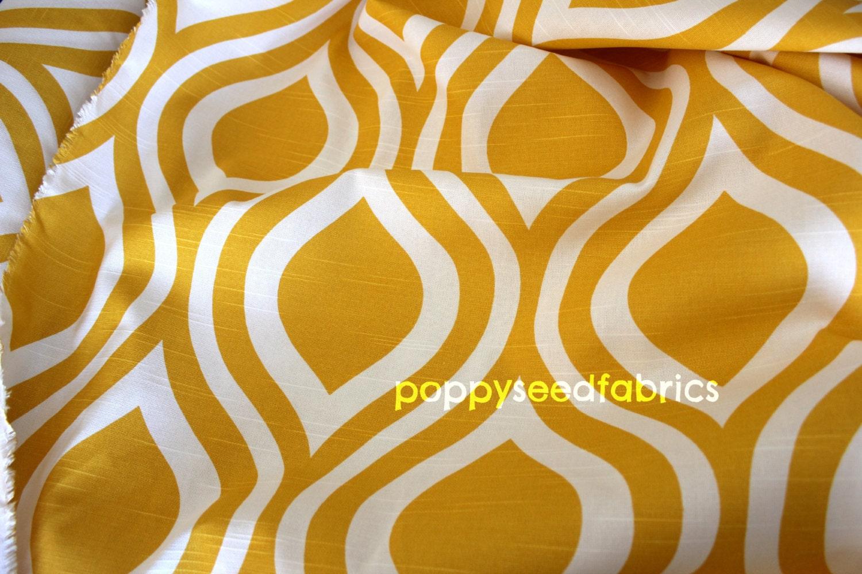 Premier Prints Emily Corn Yellow-Slub Home Decor Fabric 1