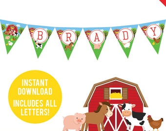1 Western Cowboy Farm Parti Décoration Imprimé Vache Imprimer Fanion drapeau bannière