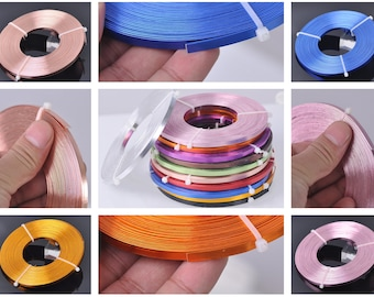 18 Gauge Bright Silver Jewelry Making Wrapping Craft Aluminum Wire 39 Feet