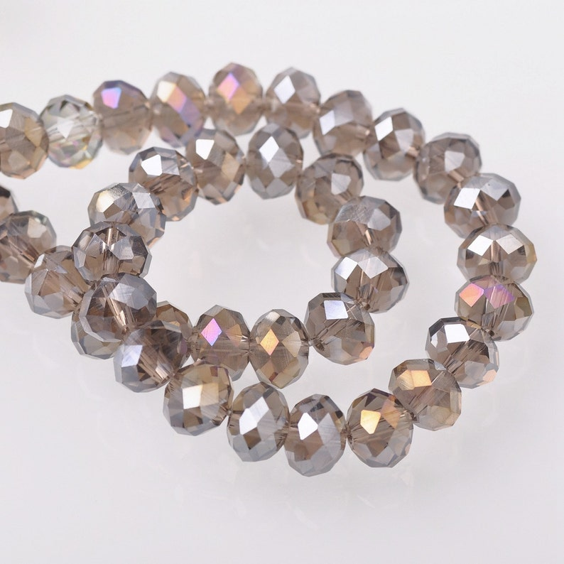 Crafts New 500 pcs 3mm purple Glass Pearl Spacer Loose Beads Jewelry Making Wholesale