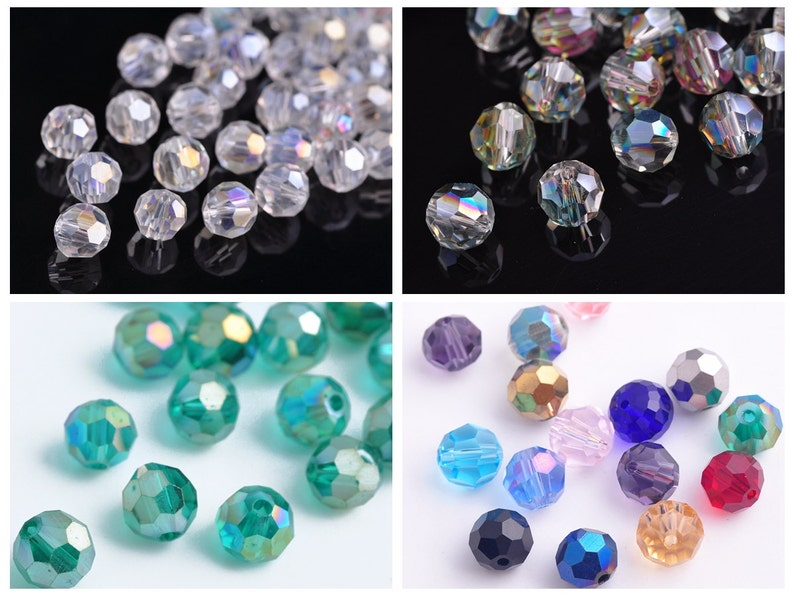 200pcs 4x3mm Green Colorized Crystal Glass Rondelle Faceted Loose Spacer Beads