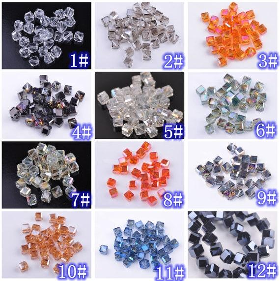 30 Lágrima Colgante De Cristal Facetado Cuentas De Vidrio 20 X 10mm Artesanía Jewllery haciendo