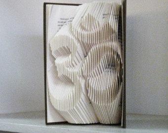 Om Symbol Folded Book Art Sculpture
