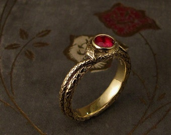 Coiled Snake Solitaire - Made to Order