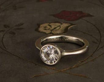 1ct Low-Profile Solitaire - Made to Order