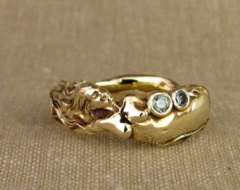 Mermaid Ring (14K) Made to order