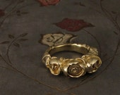 Pond Lily Ring (14K) - Made to Order