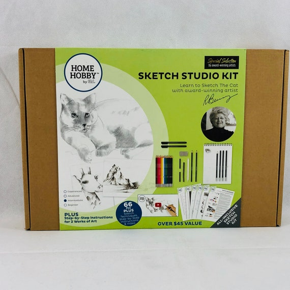 One Size HomeHobby by 3L Sketch Studio Kit Plus ∙ Cat by Robin Berry ∙ Intermediate Multiple