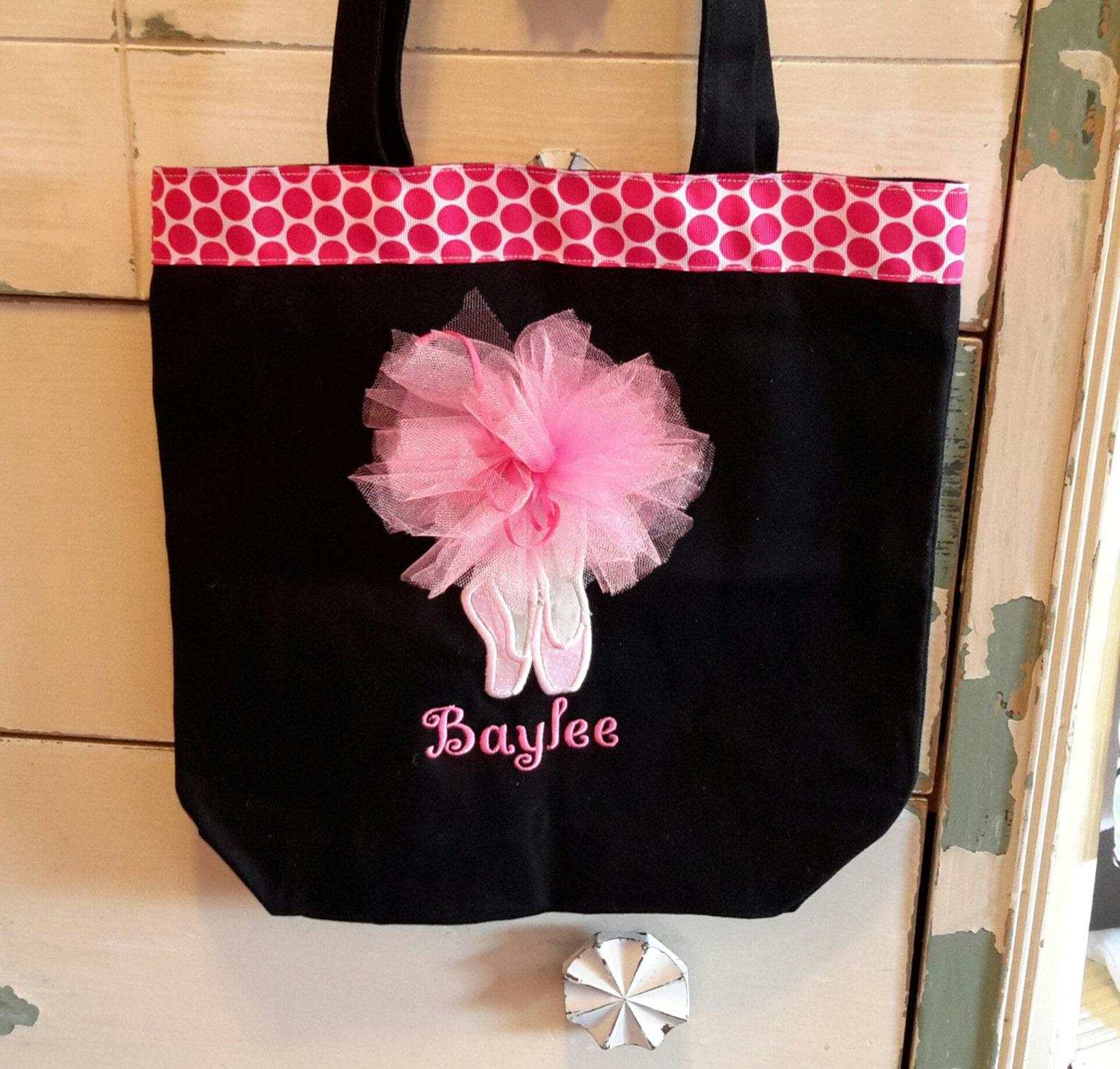 dance bag,personalized monogrammed dance bag,ballet bag, personalized ballet bag, girl dance bag