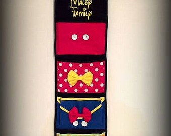 Fish Extender for Disney Cruise - Choose Pockets Personalized
