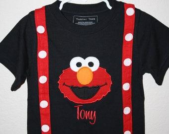 Custom Listing for Casey - Personalized 1st Birthday suspender shirt