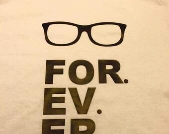 For. Ev. Er Glasses shirt Sandlot Smalls Baseball tank top t shirt raglan choose your color