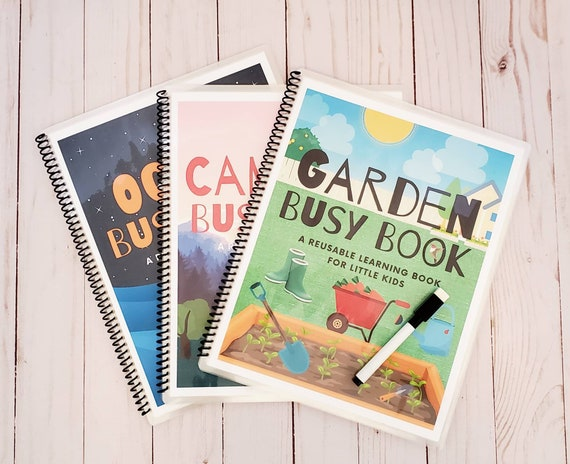 Busy Book Bundle/3 Printable Quiet Books for Little