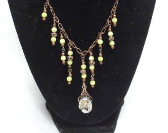 Chandelier Necklace - Watch Movement Neo-Victorian