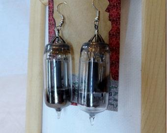 Vacuum Tube Earrings
