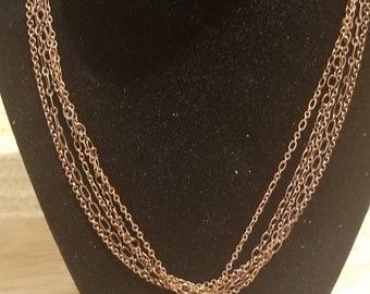 Multi-Chain Watch Movement Necklace *C1*