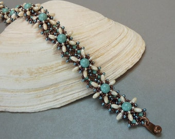 Florette (beaded bracelet & variations)/ PDF file