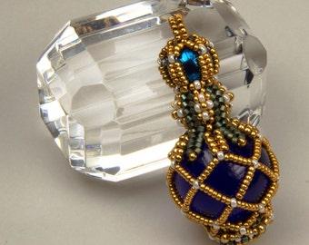 Love Potion No. 9 (beaded pendant)/ PDF file
