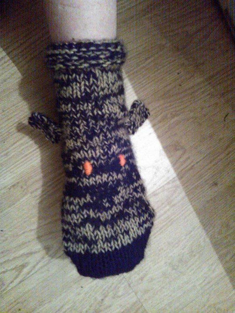 Ladies Greyhound Bed Socks Knitting Pattern Download | Etsy