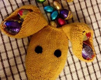 Greyhound Easter Egg Gift knitting pattern Download